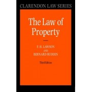 Law of Property by Formerly Professor of Comparative Law F H Lawson
