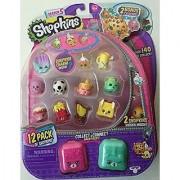 Season 5 Shopkins 12 Pack + 2 Bonus Charms Translucent Yo-Chi(5-105)