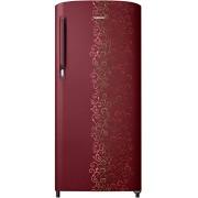 Samsung 192 L 2 Star Direct Cool Refrigerator (RR19M14A2RJ/RR19M24A2RJ , Royal Tendril Red)