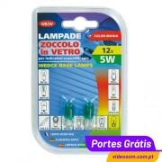 LAMPA - LÂMPADA VERDE W5W