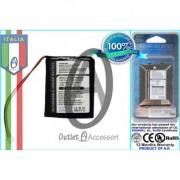 Batteria Originale PER GPS TOMTOM Go 550, Go 550 Live, 8CP5.011.11