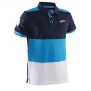 Salming Evergreen Polo Men Navy/Cyan L námořnická modrá / modrá