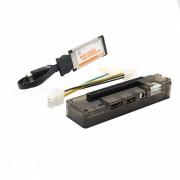 EXP Expresscard GDC Laptop External Independent Video Card w/ PCI-E 16X Interface - Black