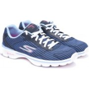 Skechers GO WALK 3-FITKNIT Walking Shoes(Blue)