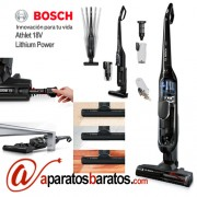 Aspirador sin cable Bosch Athlet 18V Lithium Power BCH6ATH18