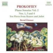 S Prokofiev - Piano Sonatas Vol.2 (0636943427026) (1 CD)