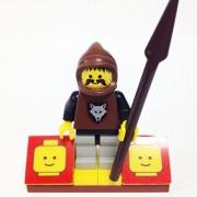 "Minifigure Packs: Lego Castle Wolf Pack Bundle ""(1) Wolfpack Raider"" ""(1) Figure Display Base"" ""(1) Figure Accessory"""