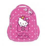 Ghiozdan, clasa 0, roz deschis, HELLO KITTY