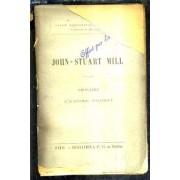 John Stuart Mill - Principes D'economie Politique.