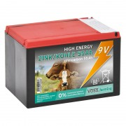 VOSS.farming ZINC-CARBON 55Ah - 9V Battery for Energisers, Small