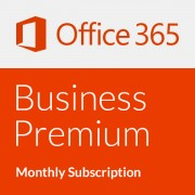 Microsoft Office 365 Business Premium - Monthly subscription (1 Month)