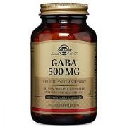 Solgar - GABA 500 mg Vegetable Capsules 100 Count