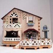 CubicFun P634H Holiday Bungalow Dollhouse Puzzle