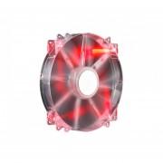 Ventilador Cooler Master MegaFlow 200mm Led Rojo (R4-LUS-07AR-GP)-Rojo