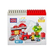 Mega Bloks Junior Builders Fire Station Rescue