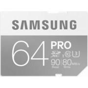 Card de Memorie Samsung PRO SDXC 64GB Clasa 10 UHS-3