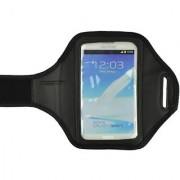 Black Running Sport Outdoor Gym Armband Case Cover for Samsung Galaxy Note2 N7100 / Samsung Galaxy Note N7000 i9220 / Sa