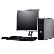Dell 745 sff core2duo e6300 4gb + 19inch lcd