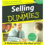 Selling for Dummies by Tom Hopkins