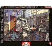 EDUCA 15983 Puzzle Genuine Spring, Arly Jones, 1000 bucăţi+Fix Puzzle lipici