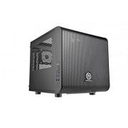 Thermaltake Core V1 Case PC Mini, Nero
