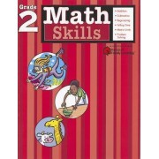 Math Skills: Grade 2 (Flash Kids Harcourt Family Learning) by Flash Kids Editors