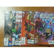 Lot Complet Justice League Of America 1 À 6 ( Meltzer / Ed Benes, V.O. 2006 D.C. ) ** Superman, Batman, Wonder Woman **
