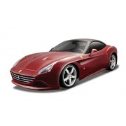 Maisto - 2043104 - Model Car - Construction Kit - Ferrari California T - Red - Scala 1/24