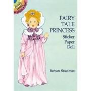 Fairy Tale Princess Sticker Paper Doll by Barbara Steadman