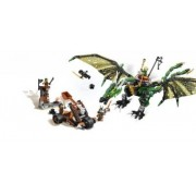 The Green NRG Dragon (Lego 70593 Ninjago)