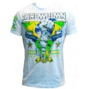 Camiseta ThrowDown Ajax White - P