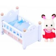 Sylvanian Families - Set coniglio bebè, colore: cioccolato
