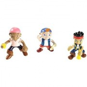 Disney's Jake and The Never Land Pirates - Jake Izzy and Cubby Pirate Pack