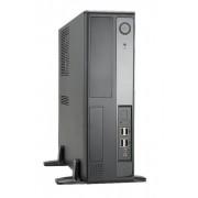 Carcasa BL641, microATx/P-P300FF7 PFC, Sursa 80W, Gri