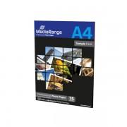 Mediarange Papel Foto Glossy Sample Pack 15 uds A4