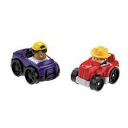 Little People Wheelies 2-Pack - Truck/Tractor