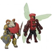Diamond Select Toys Battle Beasts Minimates 2012 Sdcc San Diego Comic Con 2 Pack