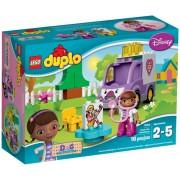 LEGO® DUPLO™ Ambulanța doctoriței Plușica 10605