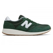 New Balance Men's 420 Re-Engineered Suede Green with White