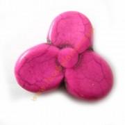 Flor Fucsia 30x28 mm