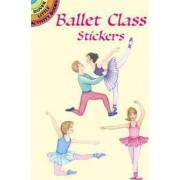 Ballet Class Stickers by Marty Noble