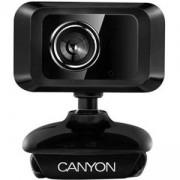Уеб камера CANYON CNE-CWC1, 1.3 Mp, USB2.0, Черна, CNE-CWC1