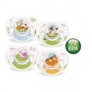 Avent Suzete +6 luni, Figurine x 2 buc, 0%BPA