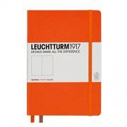 LEUCHTTURM1917 - Notebook LT1917 Medium A5, liso, color Naranja
