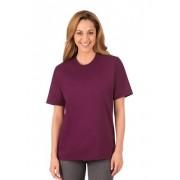 Trigema Damen T-Shirt DELUXE Baumwolle Größe: M Material: 100 % Baumwolle, Ringgarn supergekämmt Farbe: sangria
