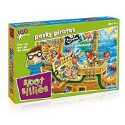 Spot the Sillies Pesky Pirates Puzzle (100 Pezzi)