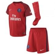 Kit de fútbol para niños talla pequeña Paris Saint-Germain de visitante para aficionados, temporada 2016/2017