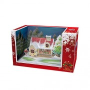 3d Puzzle Chirstmas Cottage Magic Box Works Together With I Pad Cubicfun Om3605 30 Pieces Decorative Best Seller Exiting Fun Building Game Diy Holiday Kids Best Toy