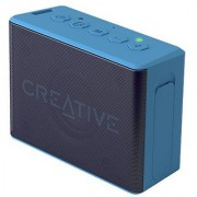 Creative MUVO 2c Palm-sized Water-resistant Bluetooth Speaker with Built-in MP3 Player (Blue)