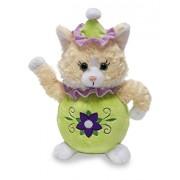 Cuddle Barn Animated Plush Toy Miss Kit Tea Sings Im A Little Teapot